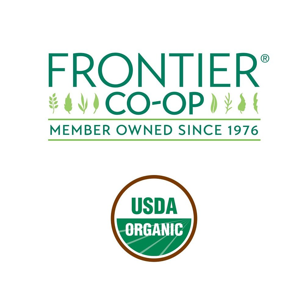 Frontier Co-op Chamomile Flowers, German Whole, Certified Organic, Kosher, Non-irradiated | 1 lb. Bulk Bag | Sustainably Grown | Matricaria recutita L.