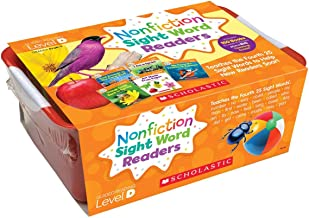 Nonfiction Sight Word Readers Classroom Tub Level D: Teaches the Fourth 25 Sight Words to Help New Readers Soar! (Nonfiction Sight Word Readers Classroom Tubs)