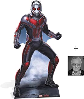Fan Pack - Ant-Man Captain America: Civil War Lifesize Cardboard Cutout/Standee / Stand Up - Includes 8x10 Star Photo