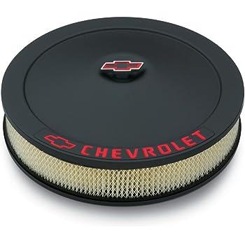 "SBC 350 High Performance Logo Chrome 14/"" x 3/"" Round Air Cleaner Filter SB Chevy"