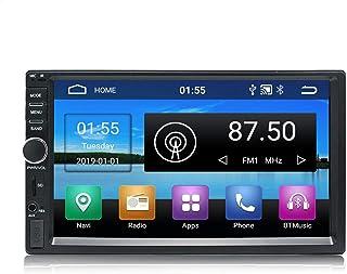 KKXXX KX011 Android 8.1 Car Stereo Navegación GPS Quad Core Auto Radio AM FM RDS 2 Din Pantalla Táctil de 7 Pulgadas 1024 * 600 BT Control del volante 1GB RAM 16GB ROM Wi-Fi