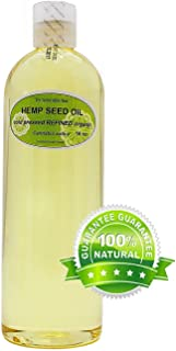 Hemp Seed Oil Refined Pure Organic Cold Pressed by Dr.Adorable 16 oz/ 1 Pint