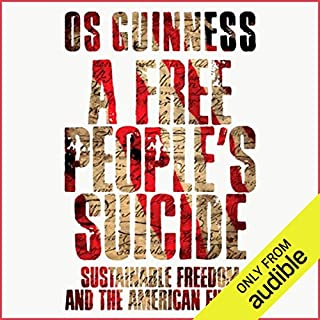 A Free People's Suicide audiobook cover art
