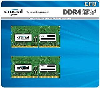 CFD販売 Crucial (Micron製) ノートPC用メモリ PC4-25600(DDR4-3200) 8GBx2枚 CL22 260pin 無期限保証 W4N3200CM-8G