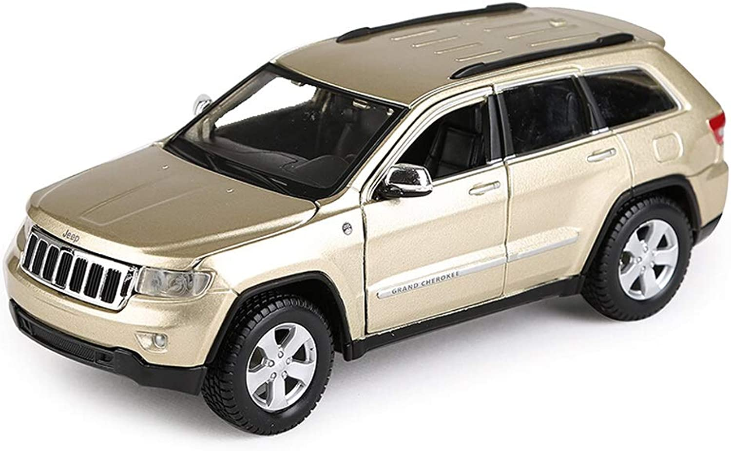 SXETModel car Model Car Simulation Alloy Car Model 1 24 JEEP Grand Cherokee Laredo Offroad Vehicle Model Decoration
