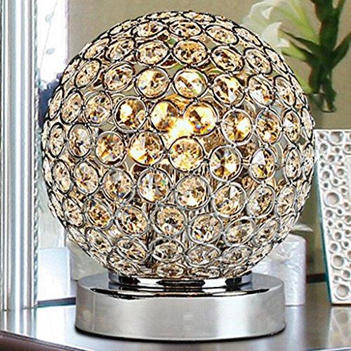 Lozse Lampe de table, tables de chevet, d'une chambre, crystal, bar, salle de séjour, d'études, de l'étude, de la décoration, moderne, led, lampe