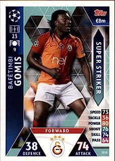 2018-19 Topps UEFA Champions League Match Attax Super Strikers #SS15 Bafetimbi Gomis Galatasaray SK Soccer Trading Card
