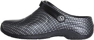AnyWear Women's Zone Health Care Professional Shoe, Bspn/Black, 6W Wide US