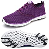 Dreamcity Women's water shoes athletic sport Lightweight walking shoes...