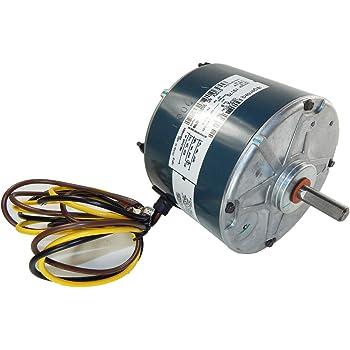 [SCHEMATICS_48YU]  Carrier Condenser Motor 5KCP39GFS166S 1/5 hp, 825 Rpm, 208-230V Genteq  3S003 - - Amazon.com | Outside Ac Fan Motor Wiring N859bs |  | Amazon.com