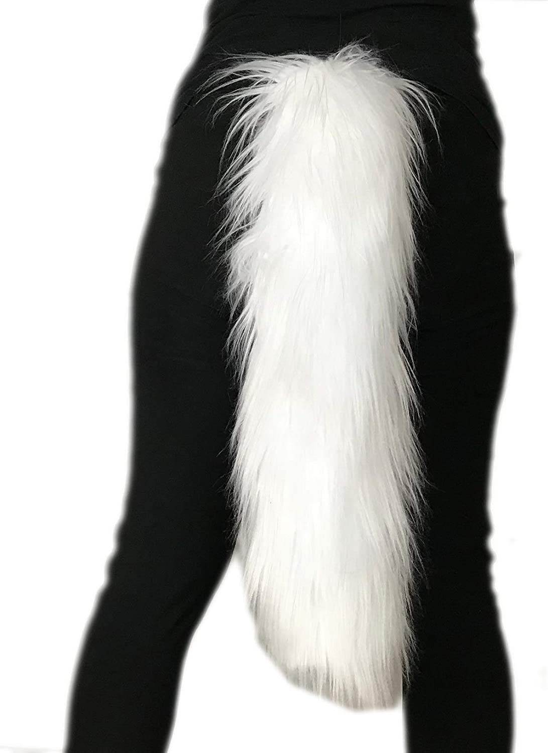 Handmade Faux Fur Tail Luxury Ranking TOP20 Costume Super Soft Sale special price Accesso Animal