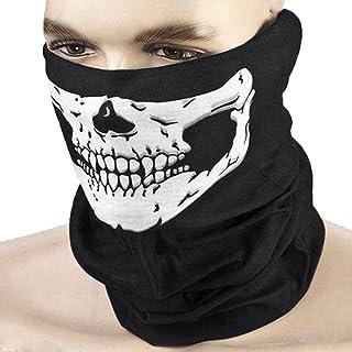 Skull print Multi-Purpose Scarf/Bandana/Mask, One Size