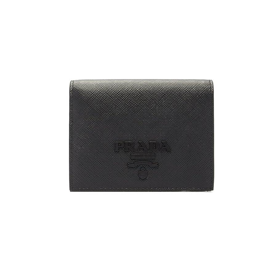 注意ヘビ慢な(プラダ) PRADA LEATHER WALLET 財布 1MV2042EBW レディース NERO F0002 ブラック