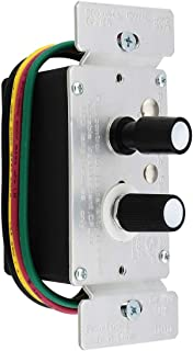 Standard 3-Way Push Button Universal Dimmer Switch With Pearl Buttons 600W