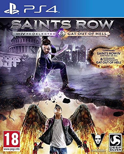 Saints Row IV: Gat out of Hell - édition re-elected - édition première [Importación Francesa]