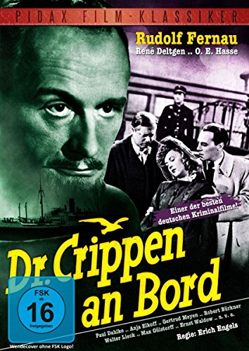 Dr. Crippen an Bord - Legendärer Kriminalfilm mit Starbesetzung (Pidax Film-Klassiker)