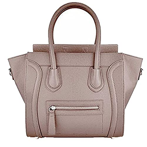 db368bab3fab Women s Ladies Designer Leather Style Celebrity Tote Bag Smile Shoulder  Handbag