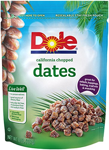 Dole, Dates, California Chopped, 8oz
