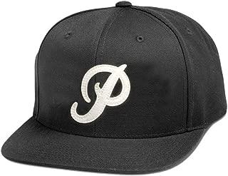 Men's Mini Classic P Snapback Hat Black