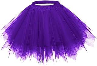 Ellames Women`s Vintage 1950s Tutu Petticoat Ballet Bubble Dance Skirt