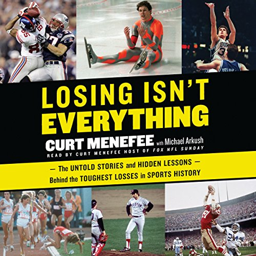 Losing Isn't Everything audiobook cover art