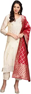 Varanga Women's silk straight Salwar Suit Set