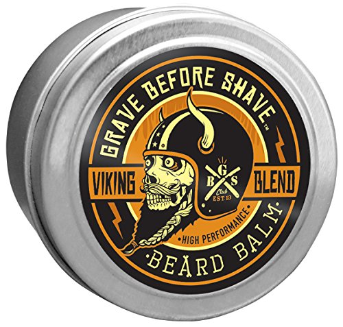 Grave Before Shave Viking Blend Beard Balm (2 ounce) by Grave Before Shave