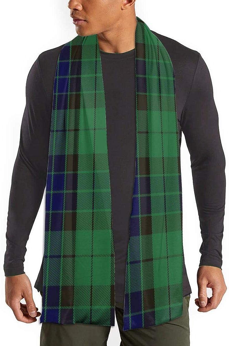 Mackay Green Tartan Scarfs – Imported Lightweight Neckwear Blanket Wrap Winter Shawl