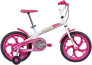 Bicicleta Infantil Caloi Ceci Aro 16 Branca