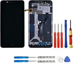 swark LCD Compatible with ZTE Blade Z Max Z982/ZMax Pro 2 Touch Screen Display with Frame + Tools (Black)