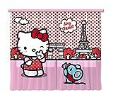 Tenda FCS XXL 7021 Hello Kitty, 2 pezzi, 280 x 245 cm