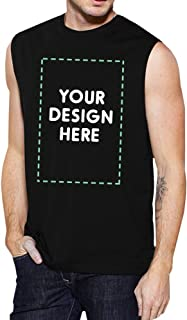 365 Printing Your Design Here Men's Custom Muscle Tee Personalized Muscle Top