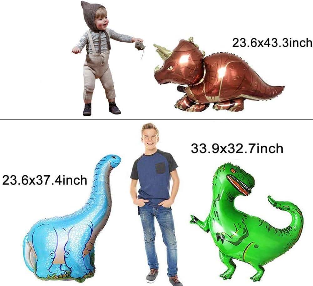 Alintor Kindergeburtstag Deko, Dinosaurier Geburtstagsdeko Jungen ...