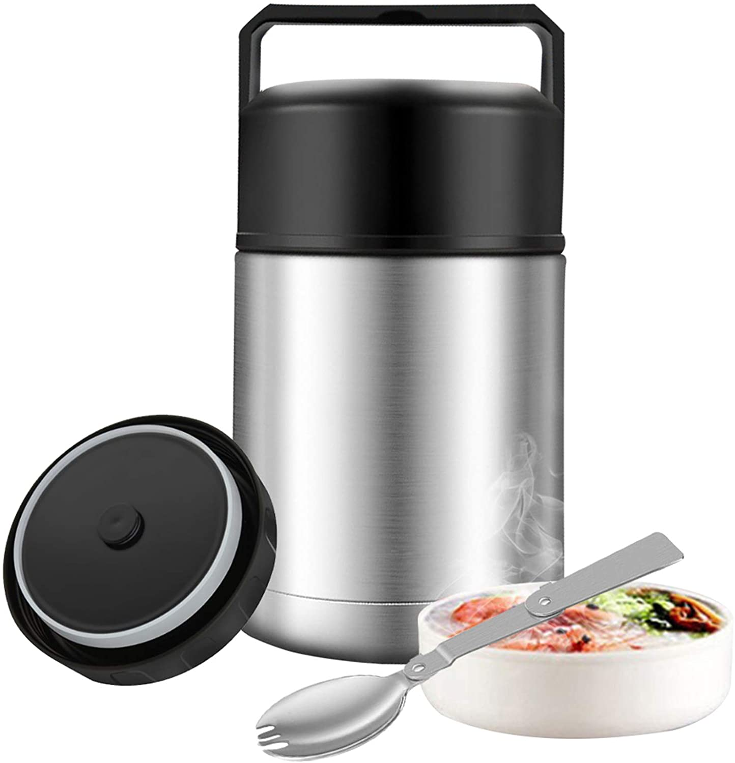 Food Oklahoma City Mall Thermos 27oz Wide Mouth Department store Hot Soup with Fold for