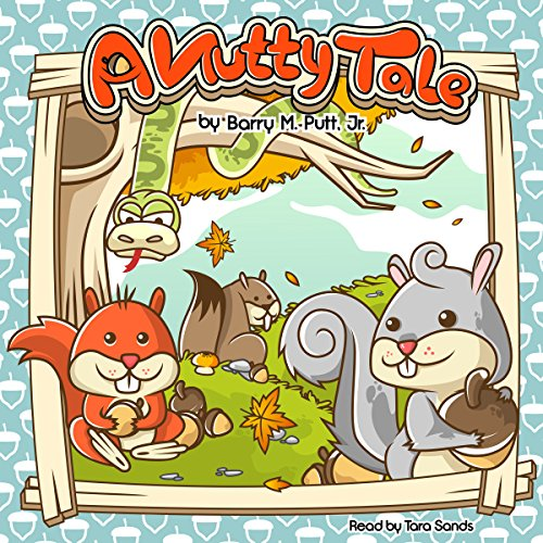 A Nutty Tale audiobook cover art
