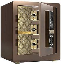 Safes for Home Hotel Private Hidden Safe Fingerprint One Button Open Smart Alarm Cabinet Safe with WiFi Remote Mobile Phon...