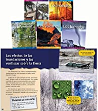 Teacher Created Materials - Classroom Library Collections: Forces in Nature (Spanish) - 5 Book Set - Grades 3-5 - Guided Reading Level J - O