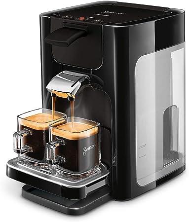 Amazon.nl-Philips Senseo Quadrante Koffiepadapparaat - Zet 2 kopjes koffie - Koffieboosttechnologie - Instelbare lekbak - Verwijderbaar waterreservoir - Automatische uitschakeling - Crema laagje - HD7865/60-aanbieding