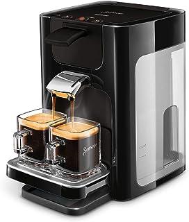 Senseo Quadrante HD7865/60Machine à café capsules 1,2 L Cafetière 8 tasses Noir Autonome Café en capsules Noir Boutons 50...