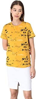 KOTTY Women's T-Shirt with Mask