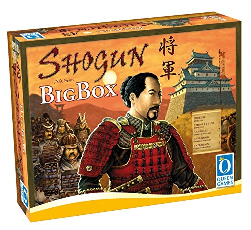 Queen Games 20142 - Shogun Big Box