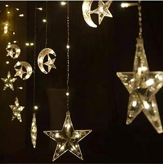 Moon star Ramadan decoration light