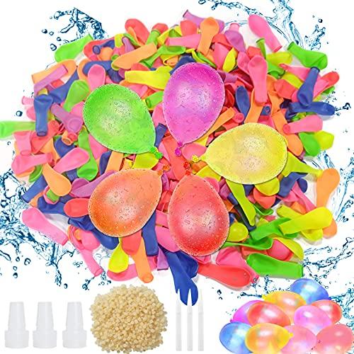 Wasserbomben selbstschließend,500 Stück Wasserbomben,Wasser-Bomben,Wasser-Ballons,Wasserbomben Wasserballons,Farbe Wasserballons,Wasserballons Bomben,Wasserballons Schneller,Wasserbomben Set
