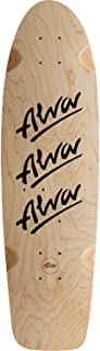 Alva 1979 Tri-Logo 10x30 Natural/Black W/Grip Skateboard Deck