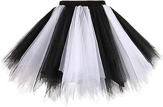 Black And White Tutu Skirts