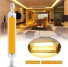 Dimmable R7S LED COB Light Bulb 118mm 10W Instead of Halogen Lamp 220V LD2039