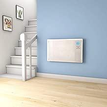 123 * 77 * 2.9cm Radiador Termost/ático Mural De Calefacci/ón El/éctrica para Colgar En La Pared Calentador El/éctrico De Pared De Baja Energ/ía 1000W