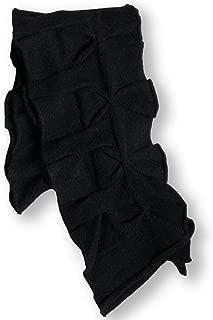 Ruffle Wool/Angora Heavy Knit Cold Weather Fashion Scarf