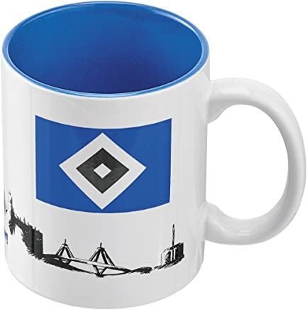 Hamburg SV Tasse Wat mutt Mug HSV dat mutt! Plus Lesezeichen I Love Kaffeetasse