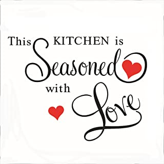 CUGBO This Kitchen Seasoned Wall Stickers DIY Art Decor Wallpaper Home Kitchen Decal Decor